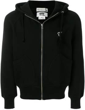 Junya Watanabe back print zip hoodie