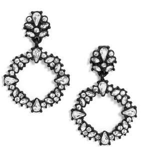 BaubleBar Magnolia Hoop Earrings