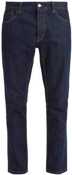 Prada Stitch-detail straight-leg cotton jeans