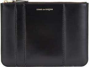 Comme des Garcons Men's Raised Spike Large Zip Pouch