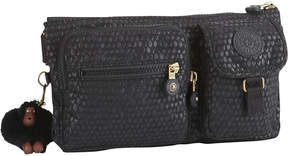 Kipling Presto nylon bum bag - BLACK SCALE EMB - STYLE