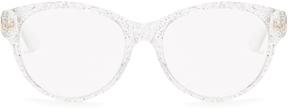 GUCCI Round-frame acetate glasses