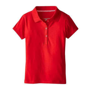 U.S. Polo Assn. USPA Short-Sleeve Stretch Knit Polo - Girls 7-16