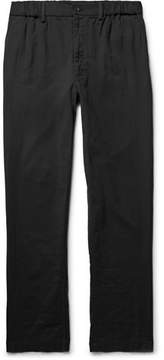 Issey Miyake Pleated Cotton Trousers