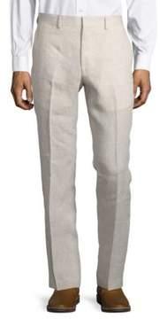 Black & Brown Black Brown Jack Fit Textured Pants