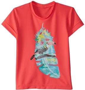 Seafolly Toddler Girl's Touci Frutti Short Sleeve Rashie Set (27) - 8158929