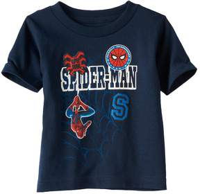 Marvel Toddler Boy Spider-Man Patched Graphic Tee