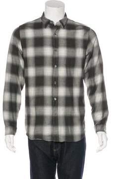 Closed Plaid Flannel Shirt w/ Tags