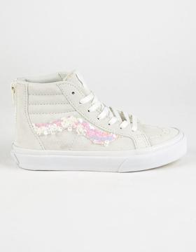 Vans Sequins Sk8-Hi Zip Girls Shoes