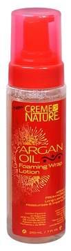 Crème of Nature Argan Oil Foaming Wrap Hair Lotion