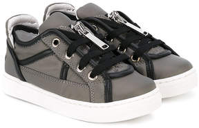 DSQUARED2 zipped sneakers