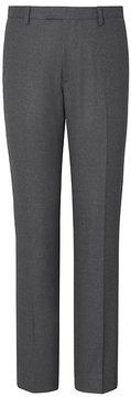 Banana Republic Slim Charcoal Italian Flannel Suit Trouser