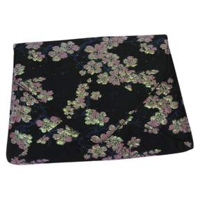 Dries Van Noten Black Cloth Clutch Bag