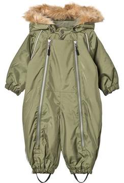 Ticket to Heaven Four Leaf Clover Green Snowbaggie Suit With Detachable Hood