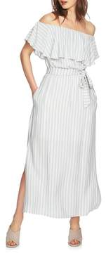 1 STATE 1.STATE Ruffle Off the Shoulder Maxi Dress