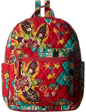 Vera Bradley Leighton Backpack Backpack Bags - HAVANA ROSE - STYLE