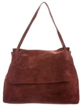 The Row Suede Sidekick Bag