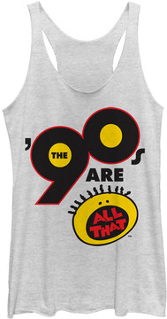 Fifth Sun White '90s Are All That' Tank - Juniors