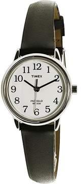 Timex Women's Easy Reader T20441 Black Leather Quartz Fashion Watch