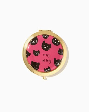 Crazy Cat Lady Compact Mirror