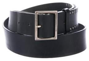 Christian Dior 2005 Studded Leather Belt