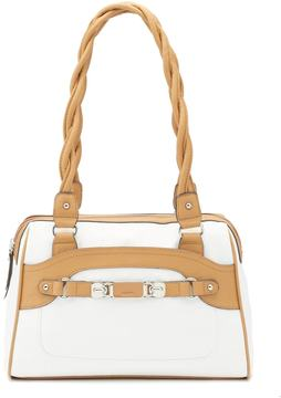 Rosetti Twist-It-Up Two-Tone Satchel