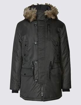 Marks and Spencer Faux Fur Parka Coat