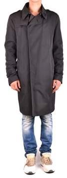 CNC Costume National Men's Mcbi074100o Black Polyester Coat.