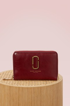 Marc Jacobs Leather wallet - CABERNET - STYLE