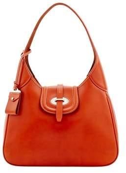 Dooney & Bourke Florentine Toscana Large Hobo Shoulder Bag. - GINGER - STYLE