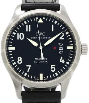 IWC Mark 17 Ingebieur Stainless Steel / Leather Automatic 41mm Mens Watch