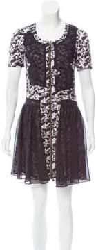 ICB Printed Silk Dress
