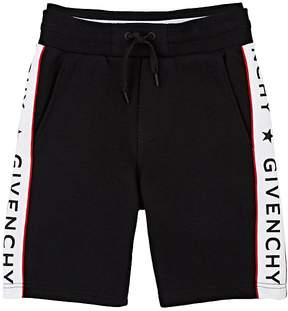 Givenchy Logo-Print Cotton-Blend Drawstring Shorts