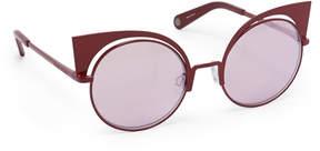 Henri Bendel Mika Round Sunglasses