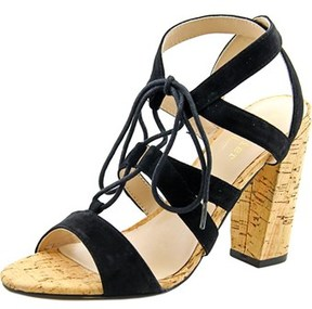 Nicole Miller Tate Women Open-toe Suede Slingback Heel.