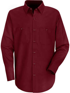 JCPenney Red Kap Industrial Solid Work Shirt