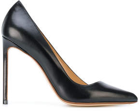 Francesco Russo asymmetrical stiletto pumps