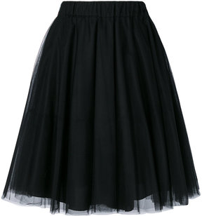P.A.R.O.S.H. tulle gathered skirt