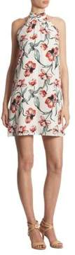 Cynthia Steffe Monte Floral Terrace Halter Dress