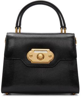 Dolce & Gabbana Black Medium Welcome Bag