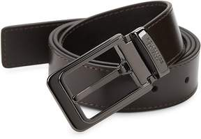 Versace Men's Buckled Leather Belt