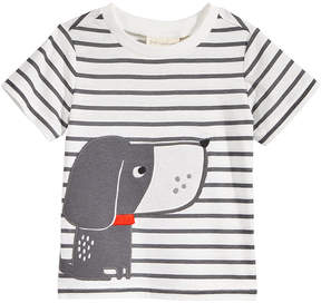 First Impressions Dog-Print Cotton T-Shirt, Baby Boys (0-24 months), Created for Macy's
