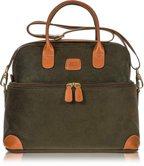 Bric's Life - Olive Green Micro Suede Beauty Case Bag