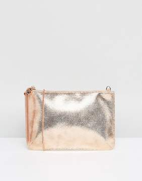 Coast Rose Gold Pouch Bag