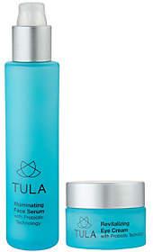 Tula Eye Cream & Illuminating Serum Duo