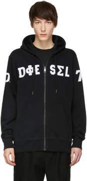 Diesel Black S-Cannery Hoodie