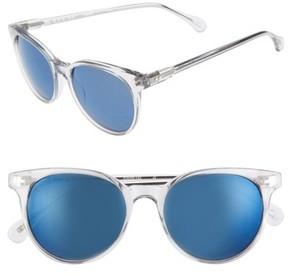 Raen Women's Norie 51Mm Cat Eye Mirrored Lens Sunglasses - Artic Crystal