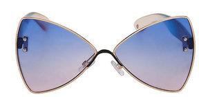 Betsey Johnson Feelin Blue Sunglasses