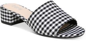 Bar III Jane Block-Heel Slide Sandals, Created for Macy's Women's Shoes