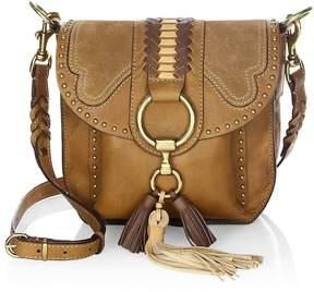 Frye Women's Ilana Western Leather Saddle Bag
